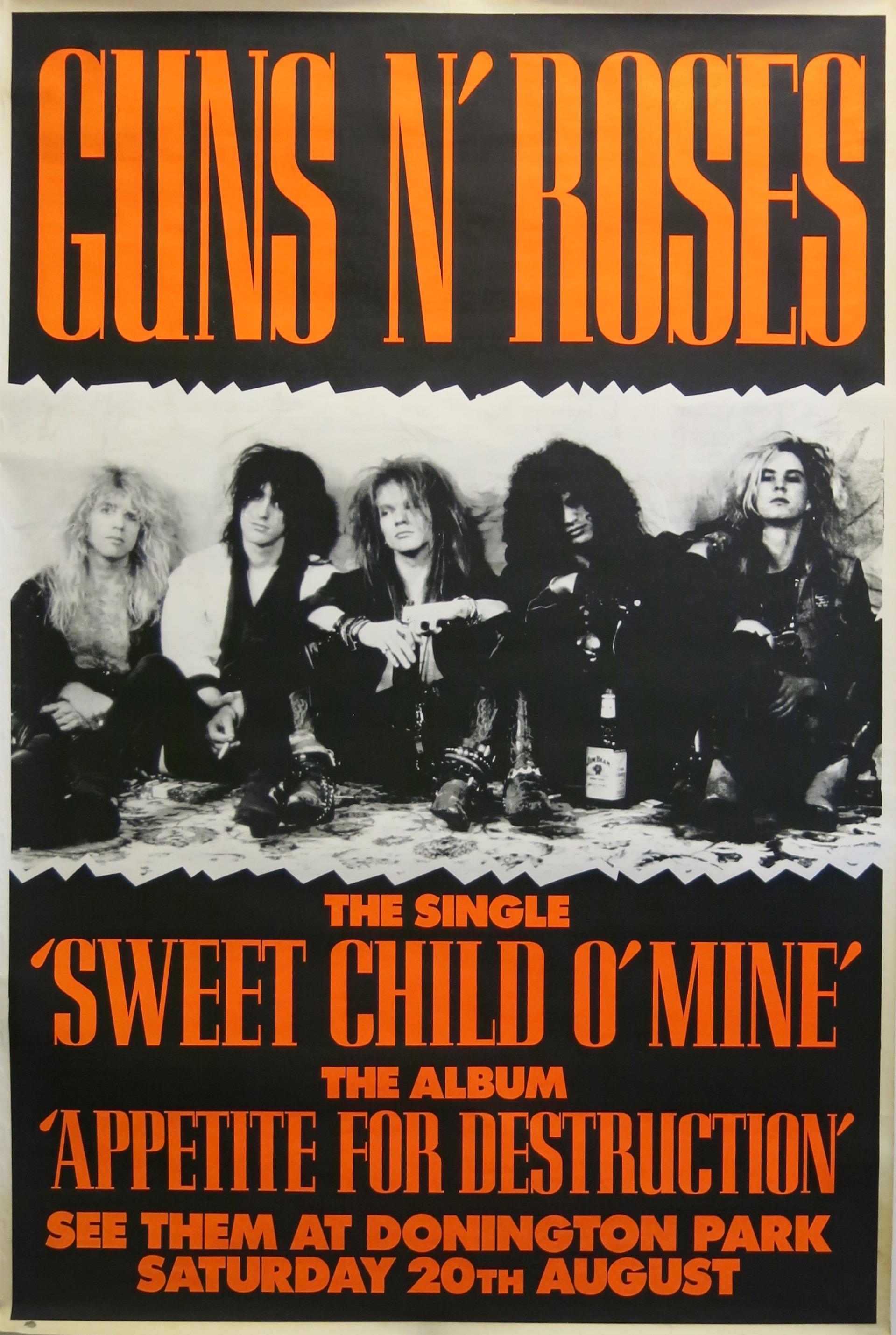 guns n roses poster click for full image