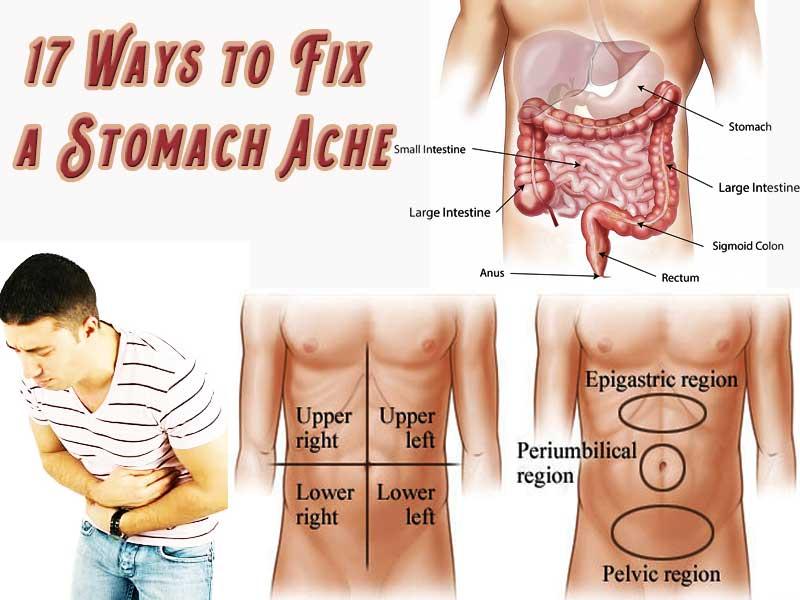 fix stomach acne