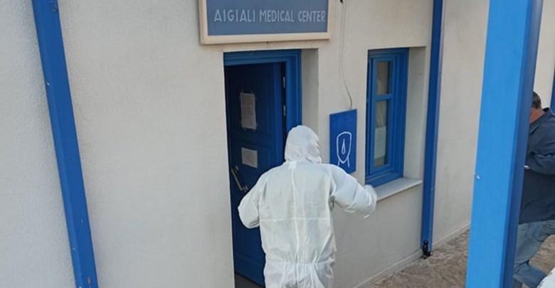 Απολύμανση και προληπτικά μέτρα στο Δήμο Αμοργού