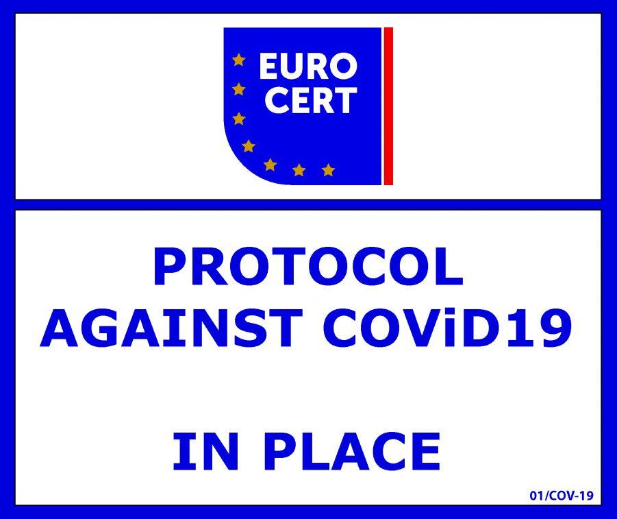 "Agrino: Πιστοποίηση συμμόρφωσης ""Protocol against COVID-19"""
