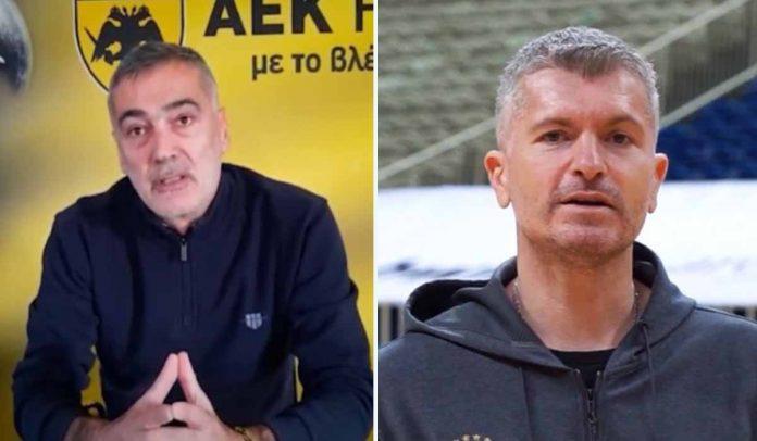 Ηλίας Ατματσίδης και Γιώργος Καλαϊτζής