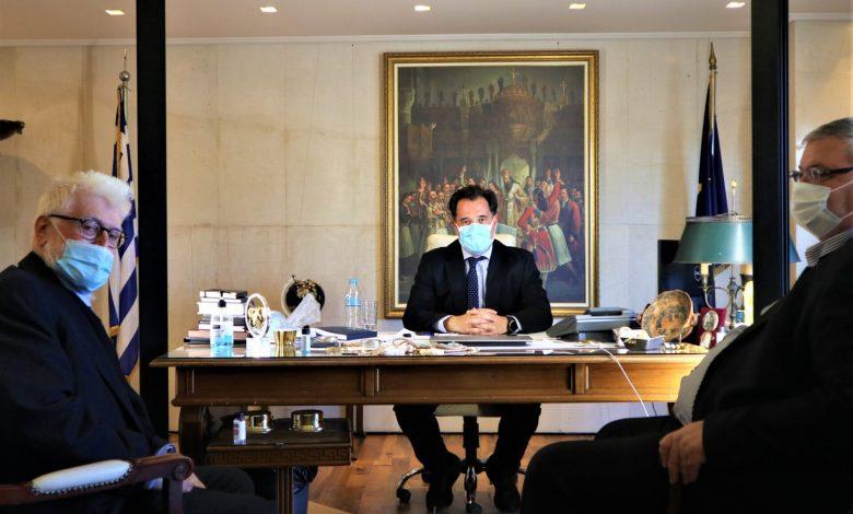 Ο Άδωνις Γεωργιάδης συναντήθηκε με τον Περιφερειάρχη Ηπείρου και τον Δήμαρχο Ιωαννίνων