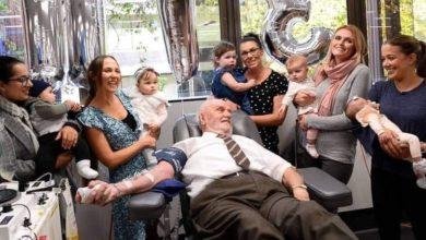 James Harrison: Ο Αυστραλός αιμοδότης που έσωσε δύο εκατομμύρια παιδικές ζωές