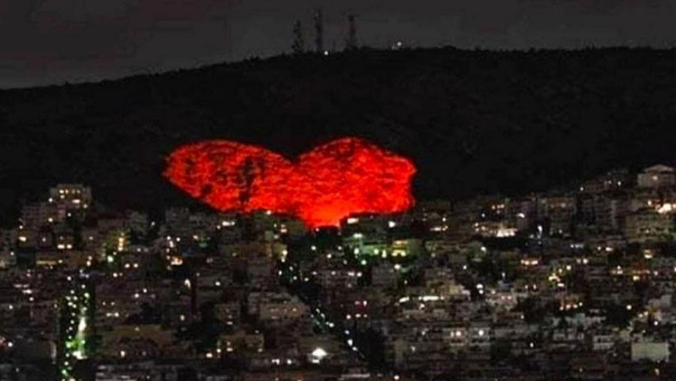 Δήμος Χαϊδαρίου: Φωτίζει τη μεγαλύτερη καρδιά της Ευρώπης