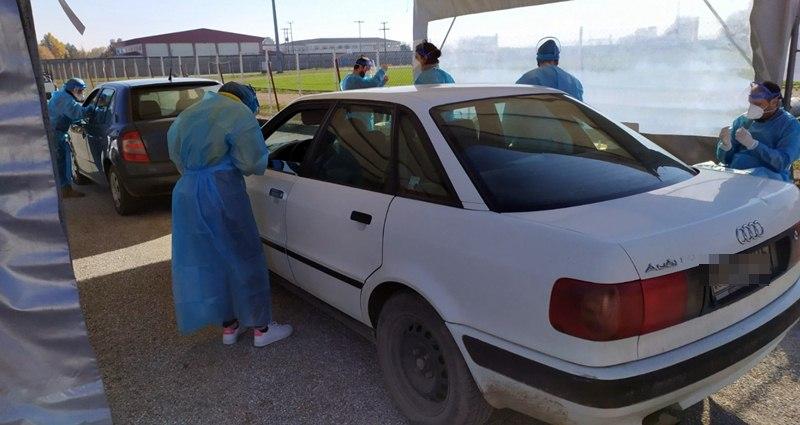 Νέο «drive through test» στο γήπεδο Σοφάδων