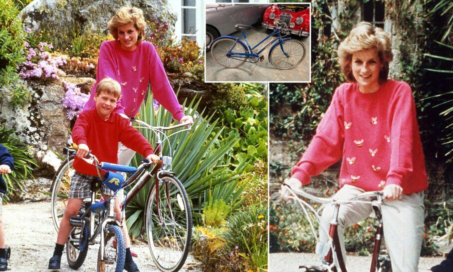 το ποδήλατο της Νταϊάνα