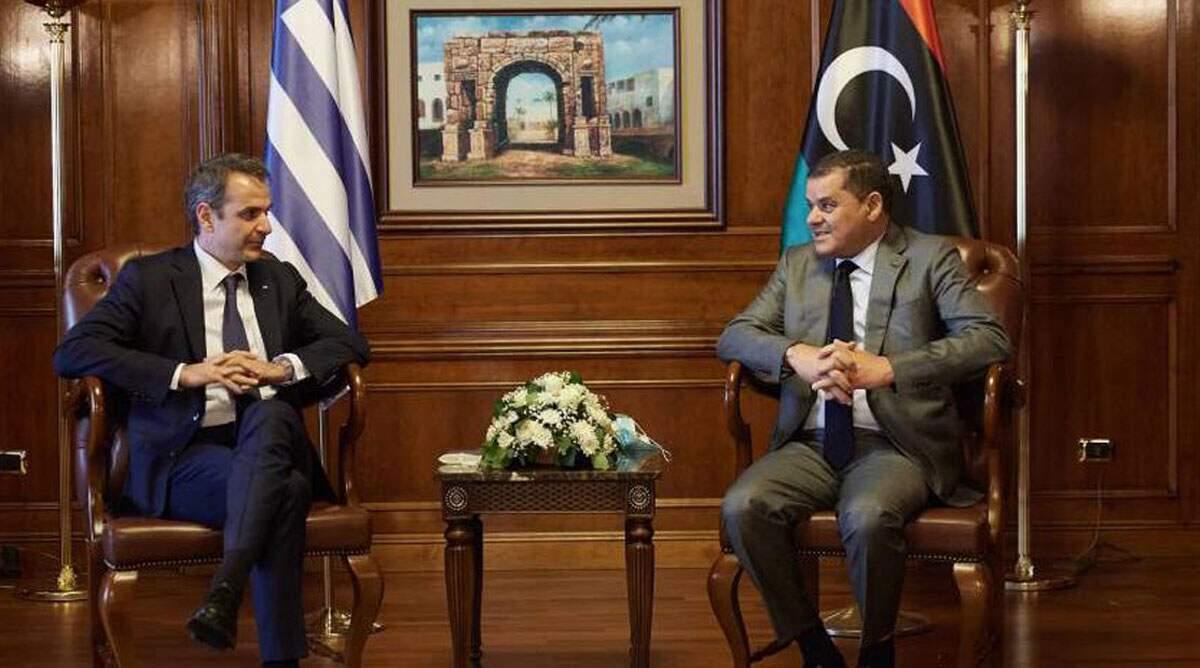 Κυριάκος Μητσοτάκης: Επανεκκίνηση των σχέσεων με τη Λιβύη