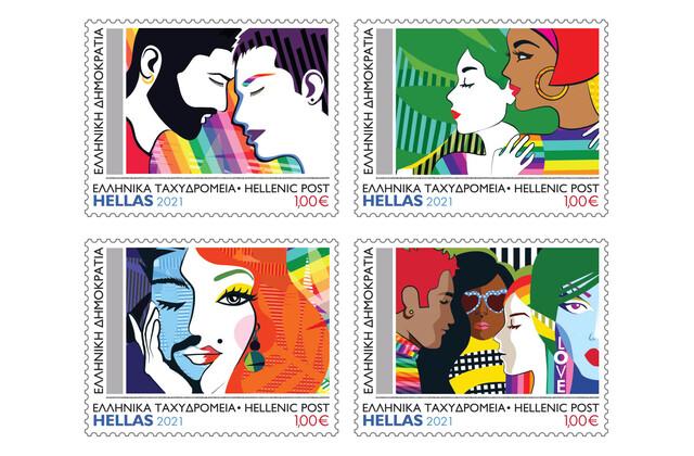 ΕΛΤΑ γραμματόσημα