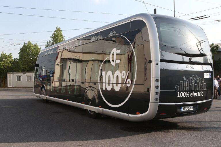 Αθήνα το νέο ηλεκτρικό Λεωφορείο - Τραμ   Ποιο δρομολόγιο