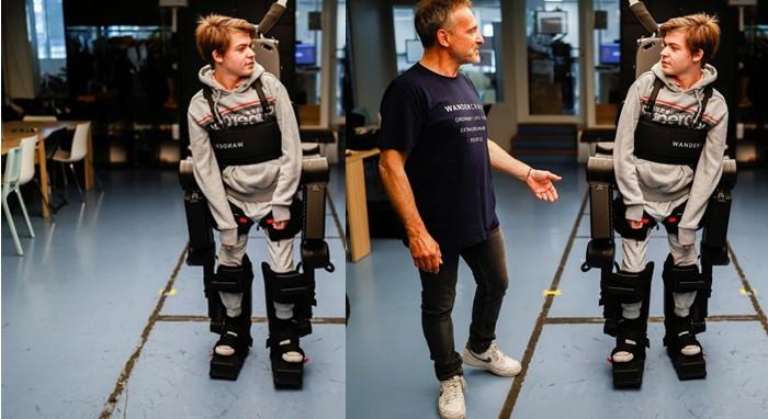 ρομποτικός εξωσκελετός