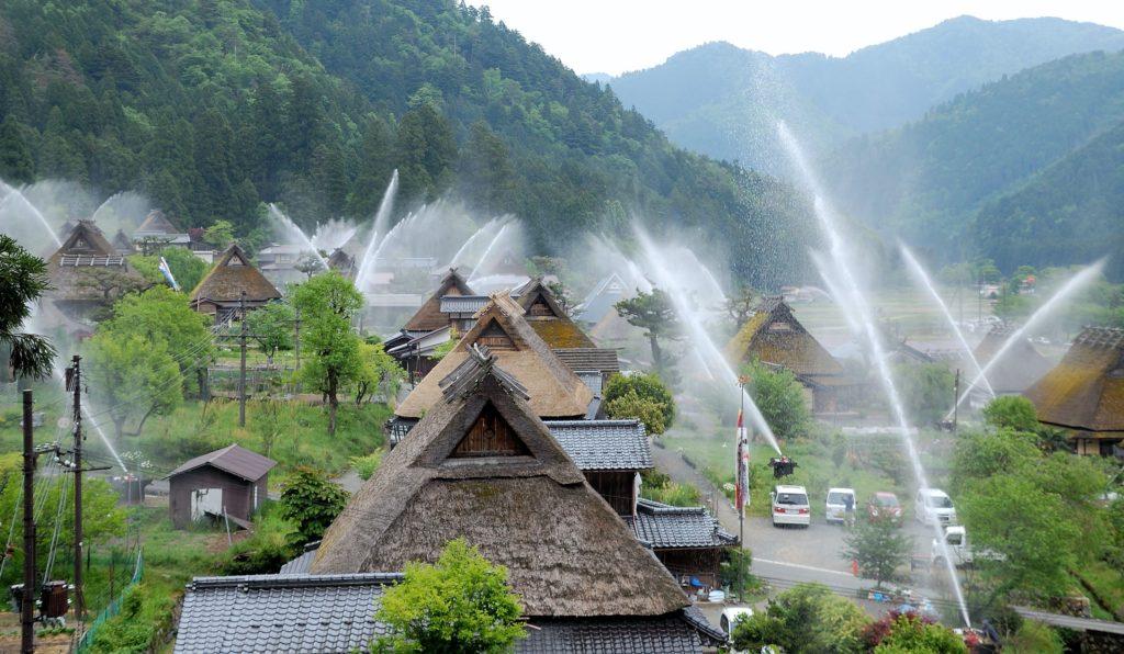 σύστημα πυρόσβεσης Ιαπωνία