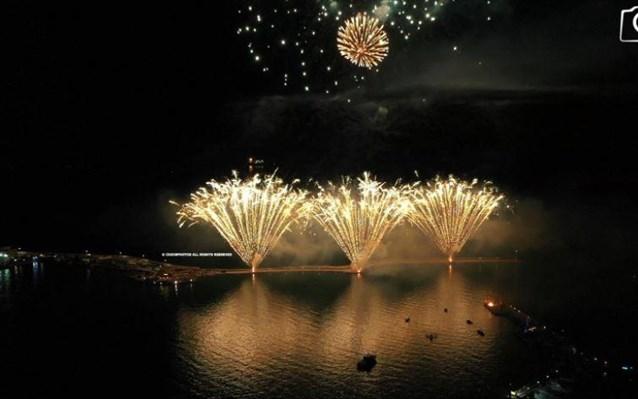 Χίος: Φαντασμαγορική εκδήλωση στη μνήμη του Κωνσταντίνου Κανάρη