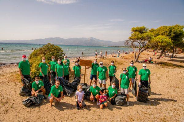εθελοντισμός ακτές Ελλάδα
