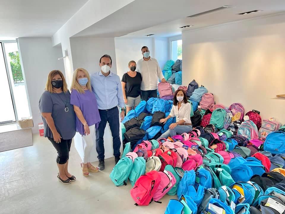 Δήμος Γλυφάδας σχολικές τσάντες