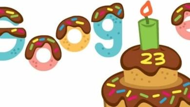 google doodle γενέθλια