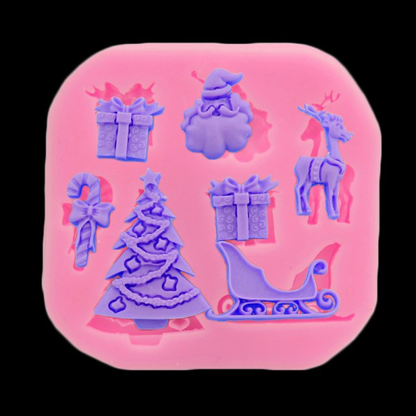 Christmas Series Soft Candy Cake Decorative Baking