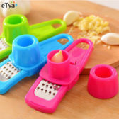 Multi functional Ginger Garlic Press Grinding Grater Planer Slicer