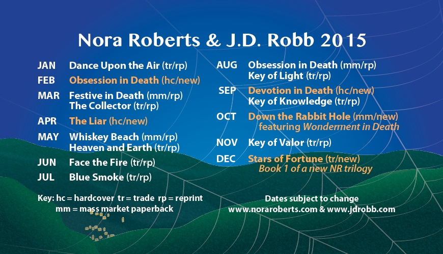 Neuerscheinungen Nora Roberts ENGLISH 2015
