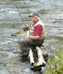 Bainbridge Island environmental activist and fisheries biologist Wayne Daley