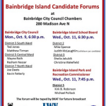 <i>Podcast: Bainbridge Island Specials: </i><br>Excerpt from the League of Women Voters' 2017 Council Candidate Forum
