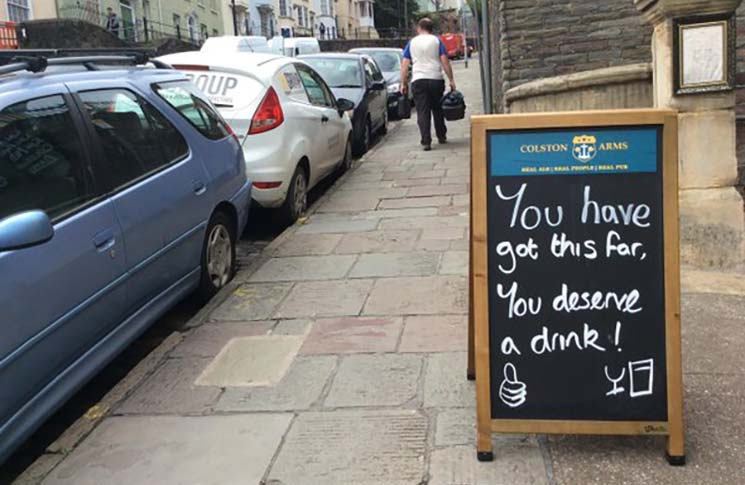 bristol pub signs