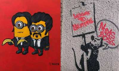 bristol street artist angus