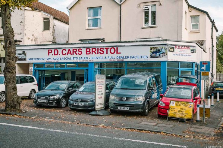 p.d cars bristol