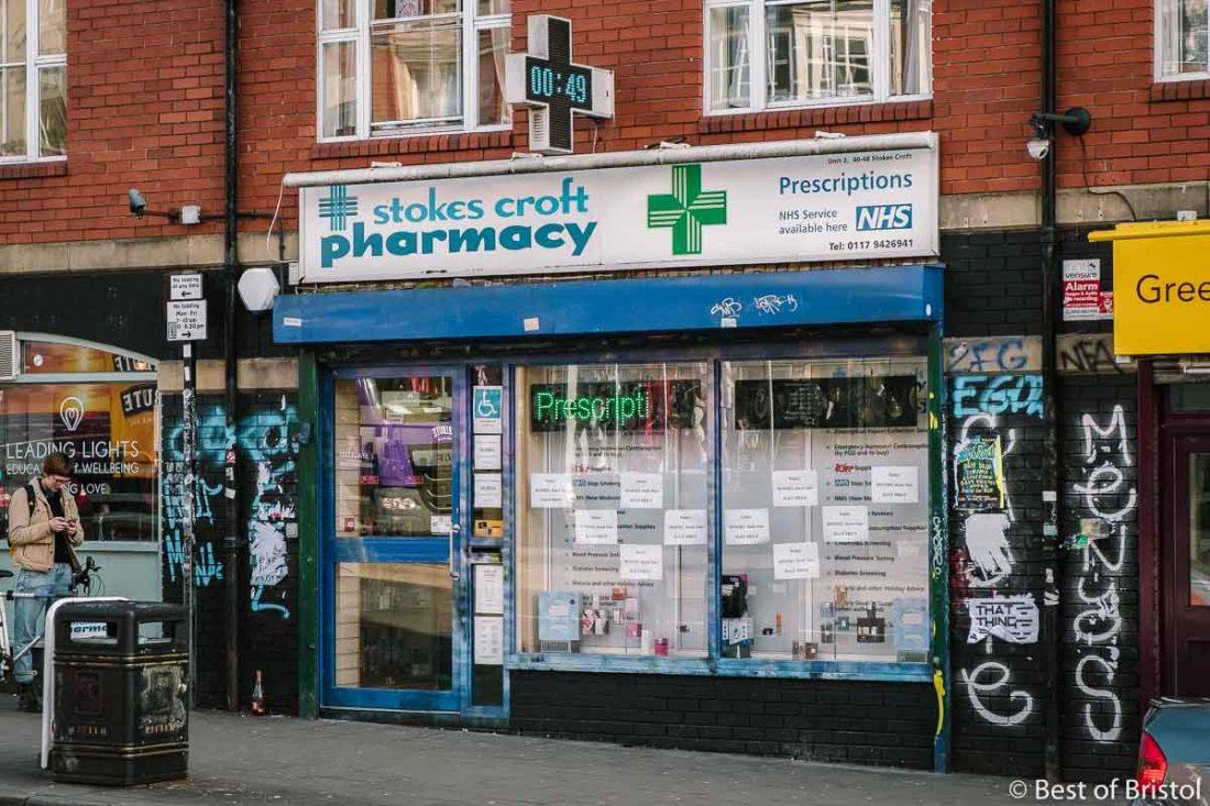 Stokes Croft Pharmarcy