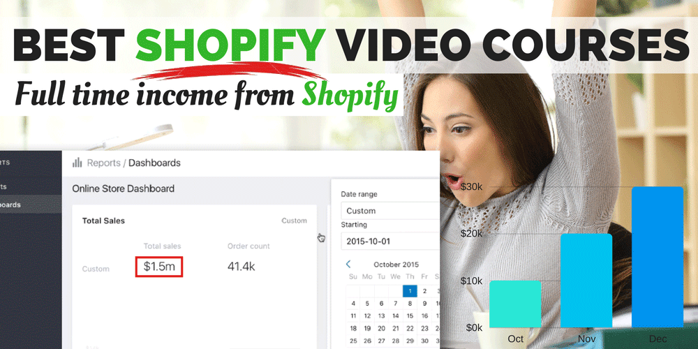 7 Best Shopify Training Courses- Master Shopify and Facebook Advertising with video courses!
