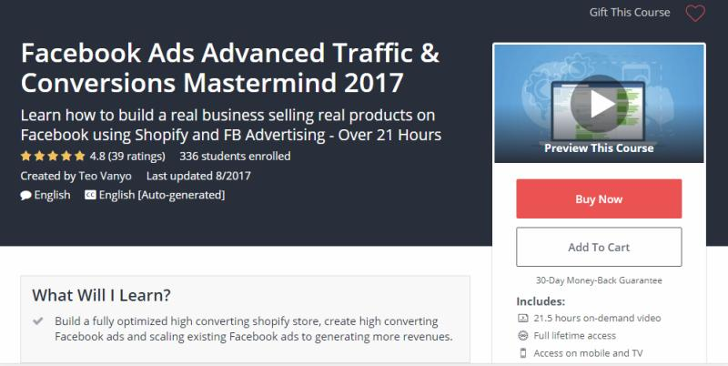 Facebook Ads Advanced Traffic & Conversions Mastermind Review