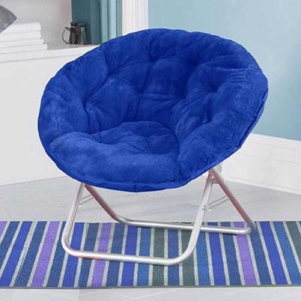Mainstay Faux-Fur Saucer Gaming Chair Review