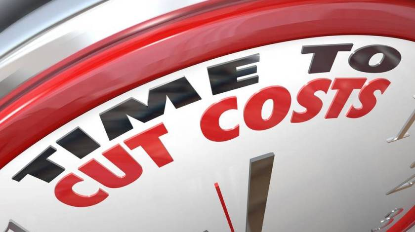 time to cut costs