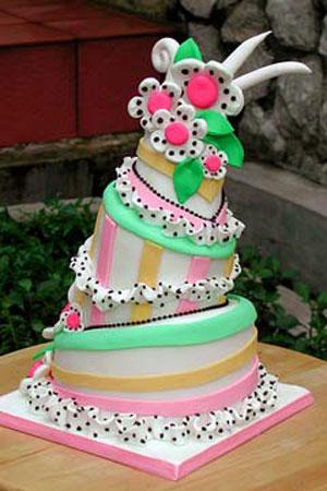 Funky Wedding Cakes Best Of Cake