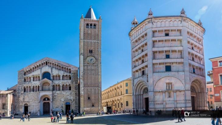 Parma. Plaza de la Catedral