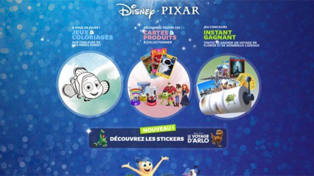 Auchan.fr - Jeu Instant gagnant Héros Disney Pixar - Bestofconcours