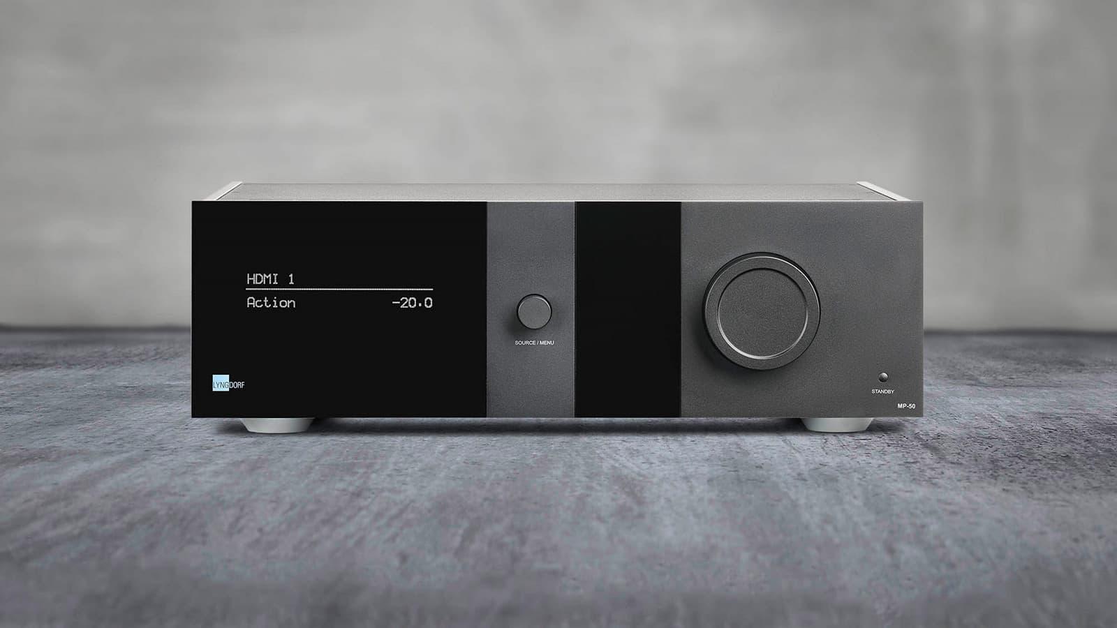 Lyngdorf Mp 50 Surround Sound Processor