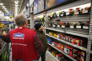 Lowe's Home Improvement takes Gold for Best Hardware Store. Courtesy Photo