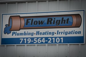 Flow Right Plumbing & Heating (Gold)