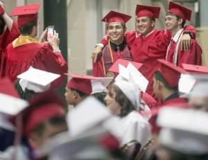 Centennial High School graduation 2017