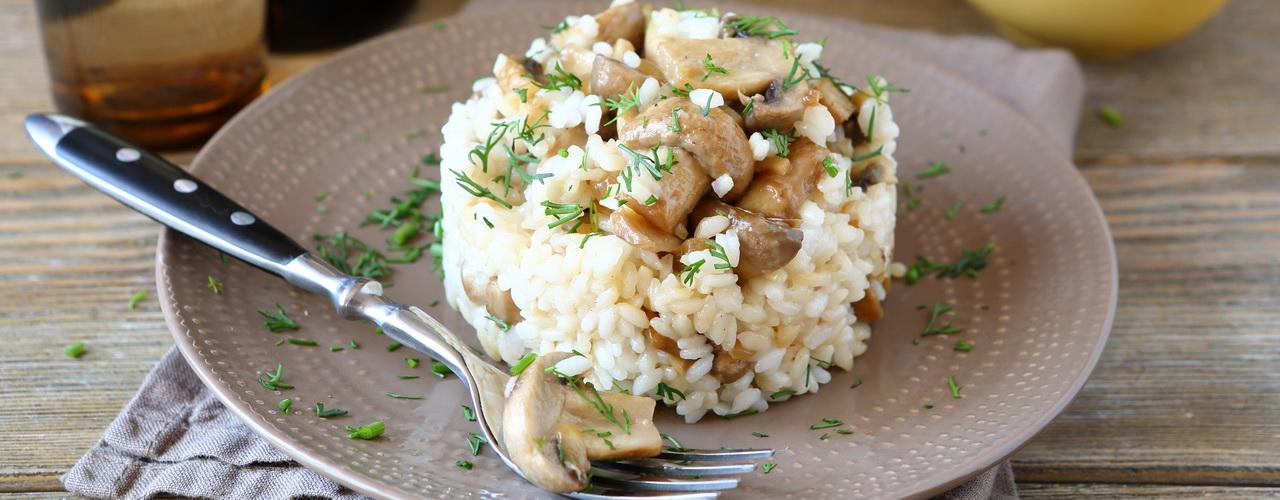 La cuisson du risotto