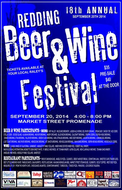 Redding's Beer & Wine Fetival
