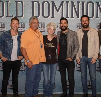 Mesa Productions Brings It Home With The Old Dominion Band — 5 Stars ☆☆☆☆☆