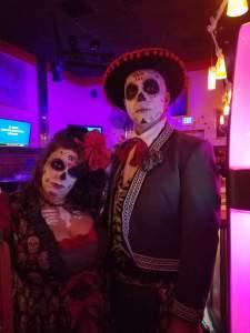 Monroe's Casino and Grill Halloween Skareoke