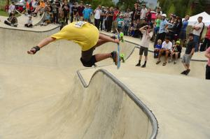Corey at Skate Contest