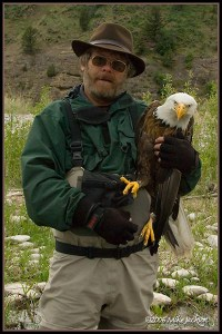 Mike and the Eagle