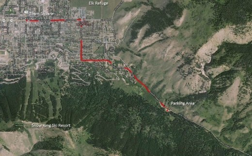 Cache Creek Map