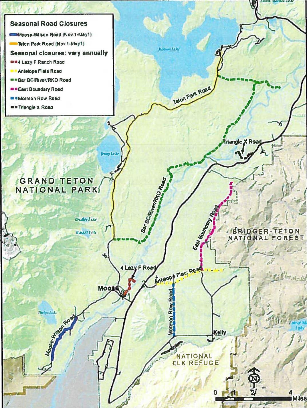 GTNP Maps Best of the Tetons