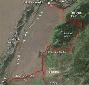 Shadow Mtn Map