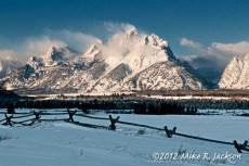 Tetons Snow Fence Jan27