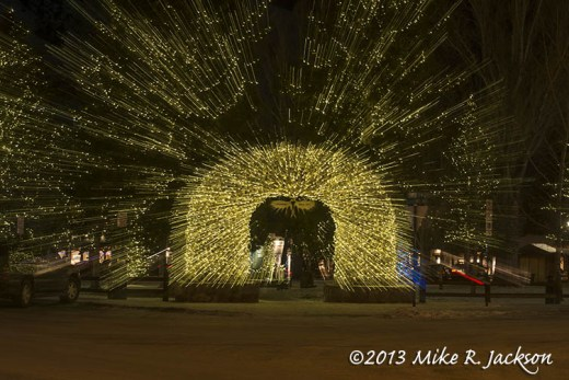 Christmas Zoomed Arch Dec15